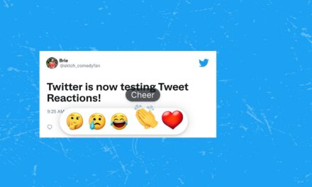 The reactions (Facebook style) are coming on Twitter
