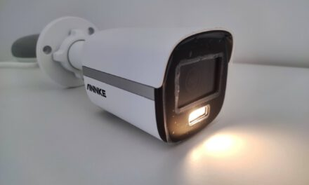 On test ANNKE NC400, the security camera that makes you see colors in the dark