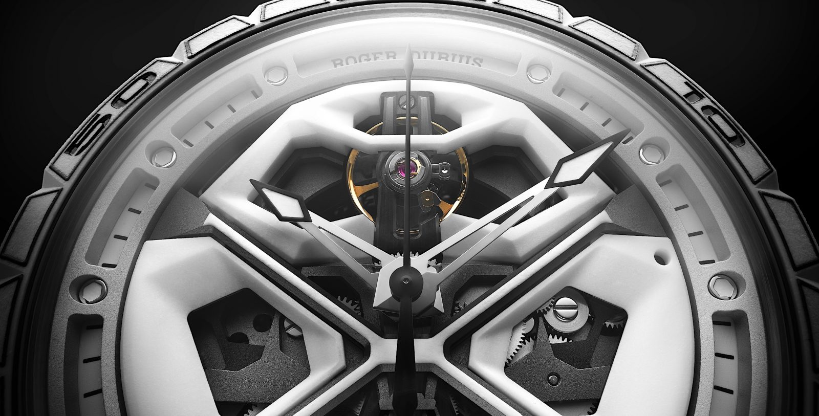 Roger Dubuis Excalibur Spider Huracán White Ceramic Composite ⋆ Watch Test